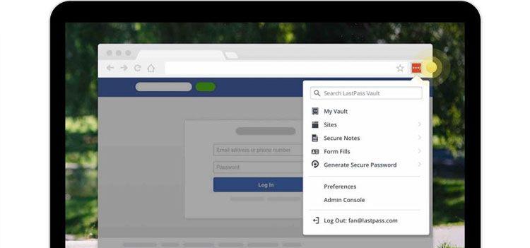 browser wachtwoorden