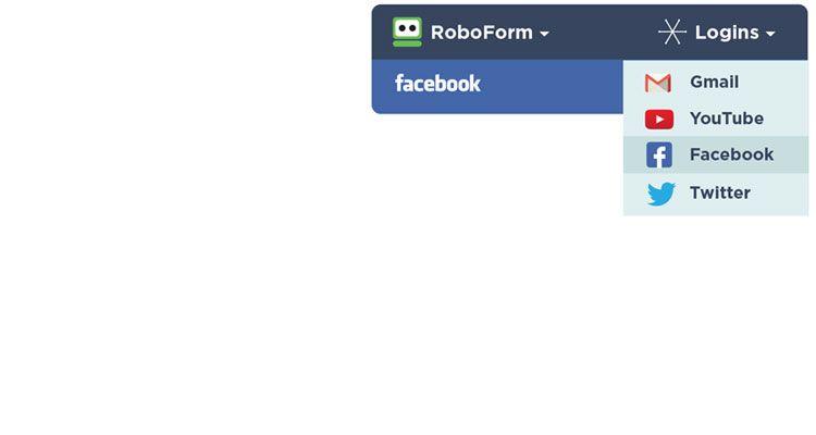 roboform automatisch login